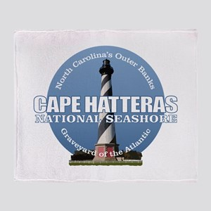 Cape Hatteras Light Throw Blanket