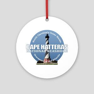 Cape Hatteras Light Round Ornament