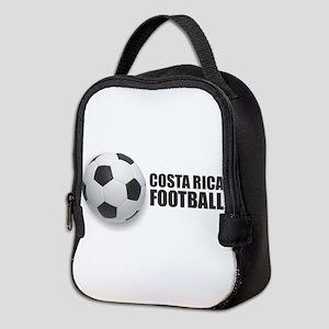 Costa Rica Football Neoprene Lunch Bag