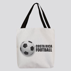 Costa Rica Football Polyester Tote Bag