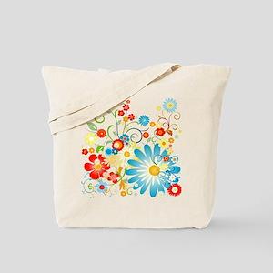 Multi Floral designer pattern Tote Bag