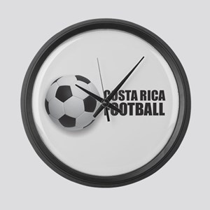Costa Rica Football Large Wall Clock