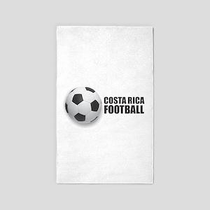 Costa Rica Football Area Rug