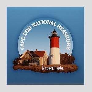 Cape Cod National Seashore Tile Coaster