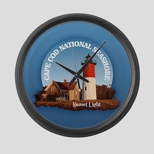 Cape Cod National Seashore Large Wall Clock