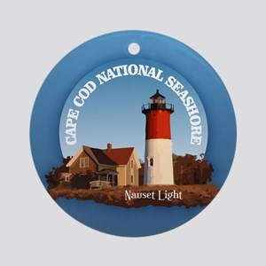 Cape Cod National Seashore Round Ornament