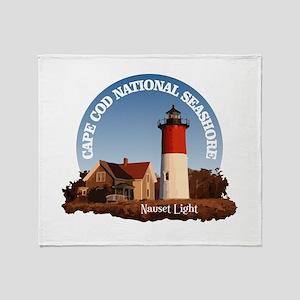 Cape Cod National Seashore Throw Blanket