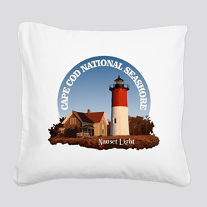 Cape Cod National Seashore Square Canvas Pillow