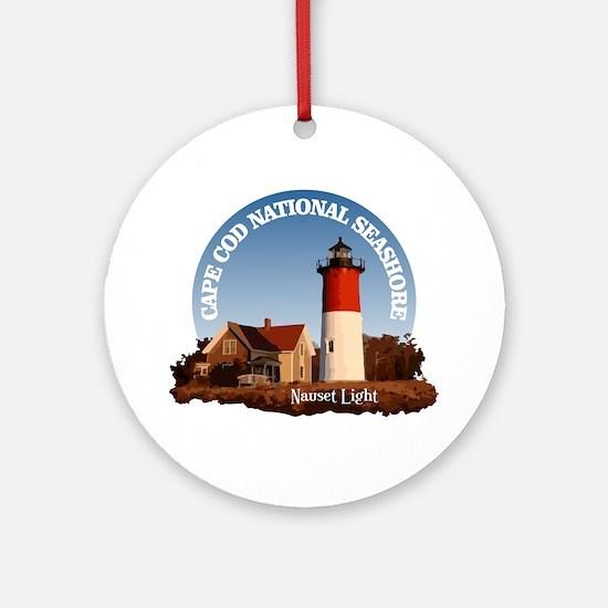 Cape Cod National Seashore Round Ornament