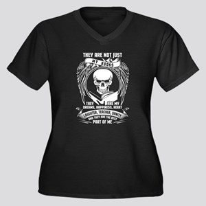 They Are Not Just My Books They Plus Size T-Shirt