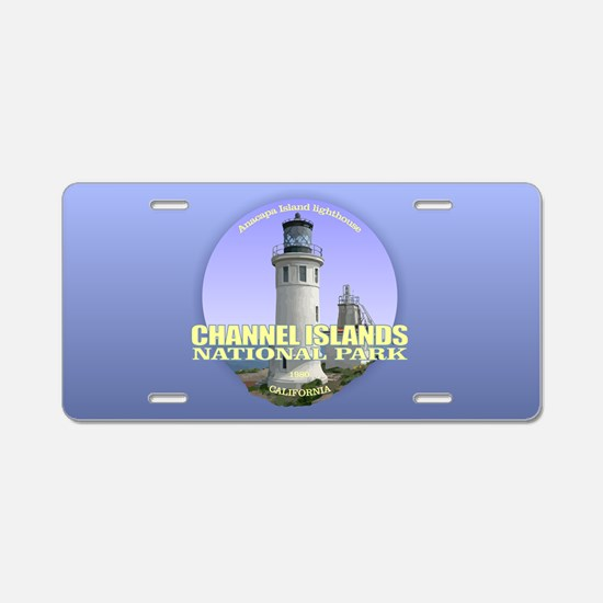 Anacapa Island Light Aluminum License Plate