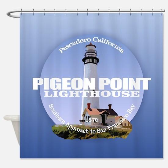Pigeon Point Shower Curtain