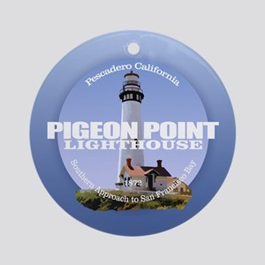Pigeon Point Round Ornament