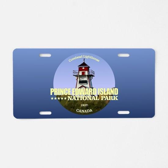 PEI NP Covehead Light Aluminum License Plate