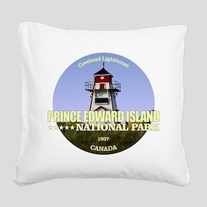 PEI NP Covehead Light Square Canvas Pillow