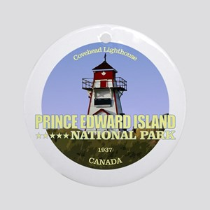 PEI NP Covehead Light Round Ornament