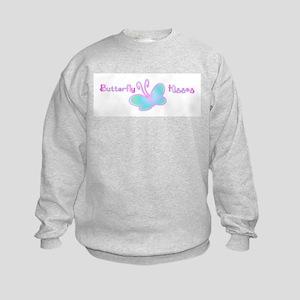 Butterfly Kisses Kids Sweatshirt