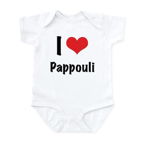 "I ""heart"" Pappouli bodysuit"