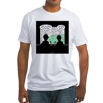 Sport Commentator Blooper Fitted T-Shirt