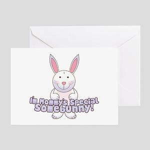 Mommy's Somebunny Boy Greeting Card