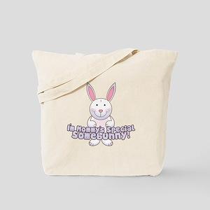 Mommy's Somebunny Boy Tote Bag