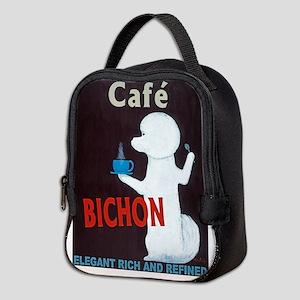 Café Bichon Neoprene Lunch Bag