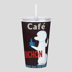 Café Bichon Acrylic Double-wall Tumbler