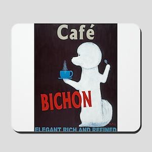Café Bichon Mousepad