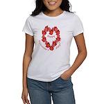 Rose Wreath, Valentine Women's T-Shirt