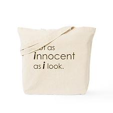 Not Innocent Tote Bag
