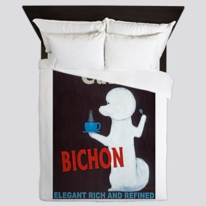 Café Bichon Queen Duvet