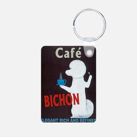 Café Bichon Keychains