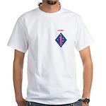FIRST MARINE DIVISION - KUWAIT White T-Shirt