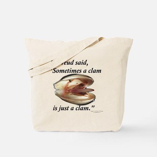 Freud Clam Tote Bag