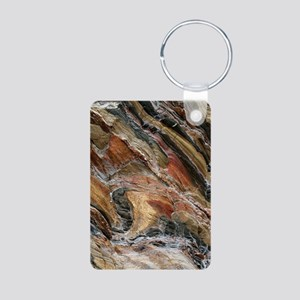 Rock swirls in nature Keychains