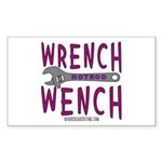 WRENCH WENCH Rectangle Sticker