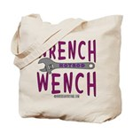 WRENCH WENCH Tote Bag