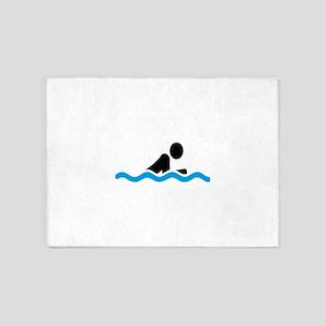 swim 5'x7'Area Rug