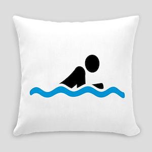 swim Everyday Pillow