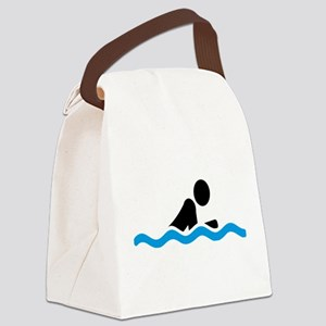 swim Canvas Lunch Bag