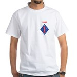 FIRST MARINE DIVISION - KOREA White T-Shirt
