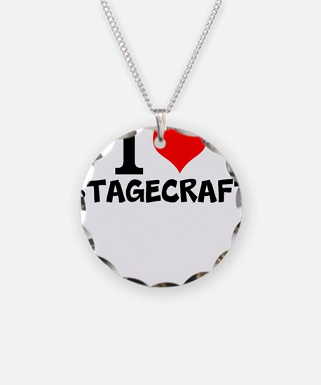 I Love Stagecraft Necklace