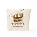 SET A RECORD Tote Bag
