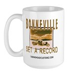 SET A RECORD Large Mug