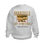 SET A RECORD Kids Sweatshirt