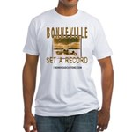 SET A RECORD Fitted T-Shirt
