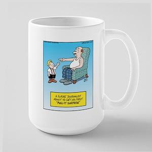 Pulitzer Surprise Large Mug
