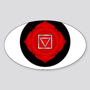 Be Grounded. Sticker (Oval)