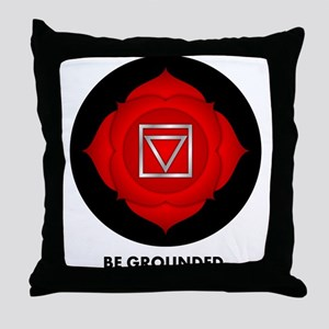 Be Grounded. Throw Pillow
