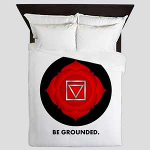 Be Grounded. Queen Duvet